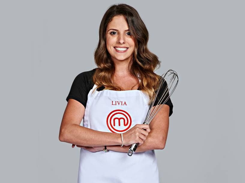 Livia Cathiard, da terceira temporada do MasterChef Brasil