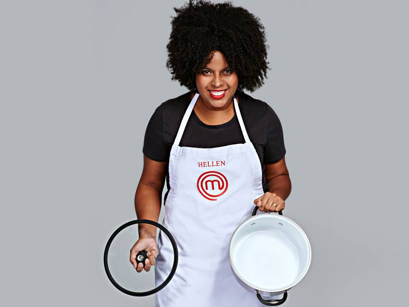 Hellen Cruz, da terceira temporada do MasterChef Brasil