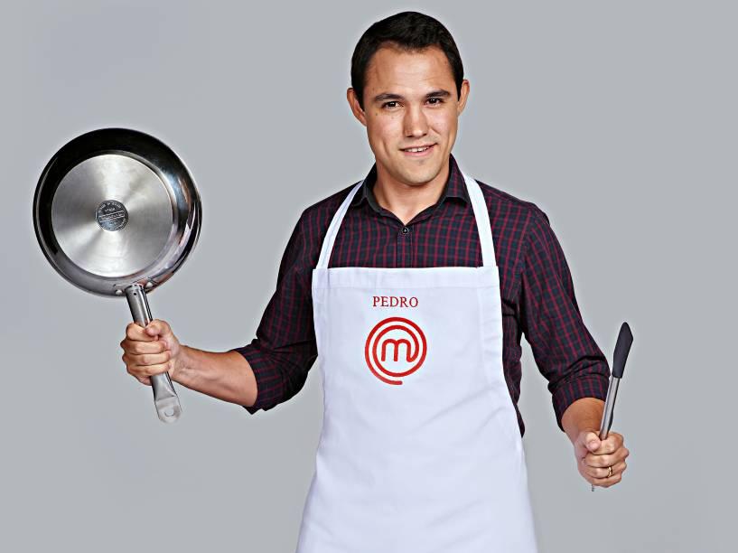 Pedro Lima, da terceira temporada do MasterChef Brasil