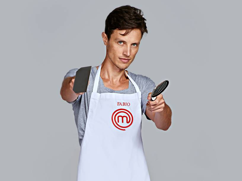 Fabio Nunes, da terceira temporada do MasterChef Brasil