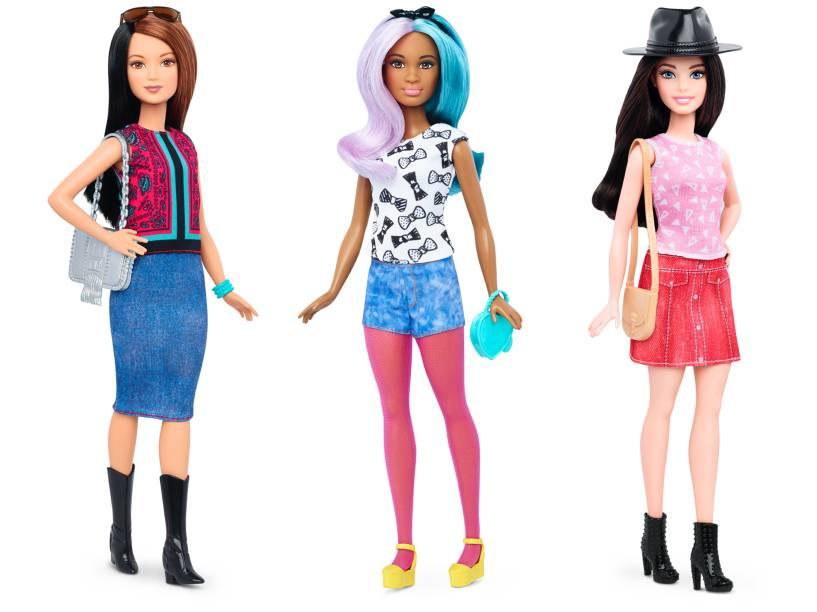 Nova linha das bonecas Barbie é lançada com três novos tipos de corpo. Bonecas da linha Petite