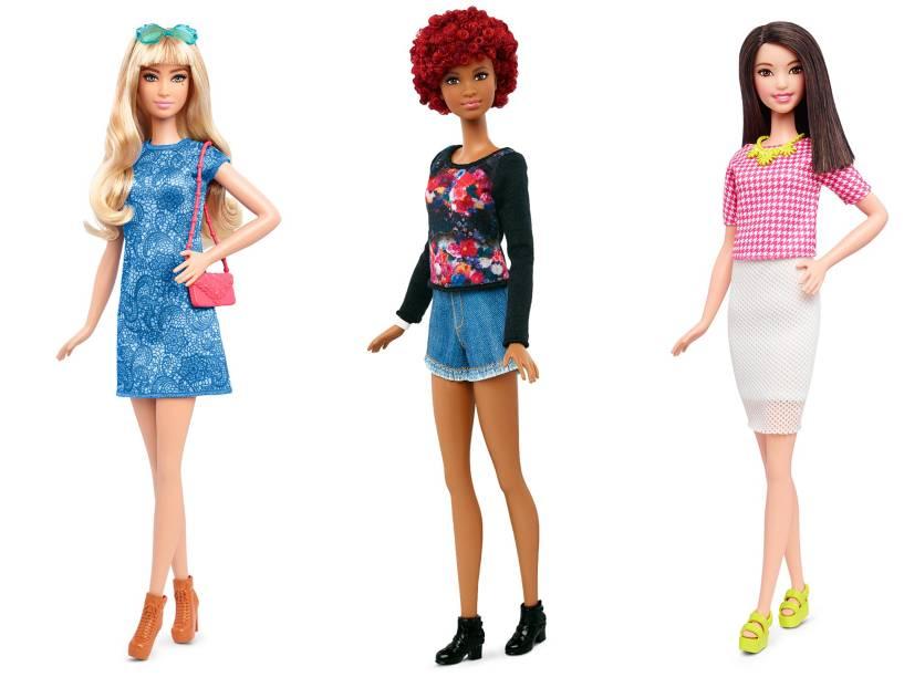 Nova linha das bonecas Barbie é lançada com três novos tipos de corpo. Bonecas da linha Tall