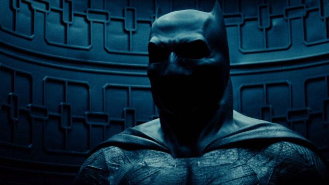 Imagem do teaser de Batman vs Superman: A Origem da Justiça