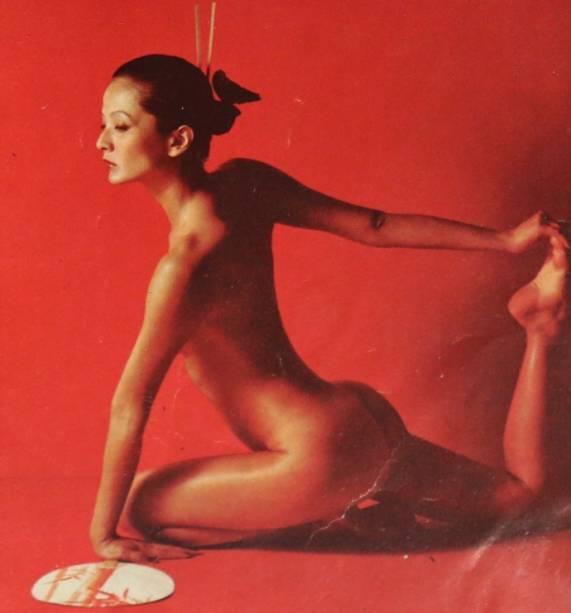 Harumi, do BBB16, posou nua na década de 1970. Hoje, ela tem 64 anos