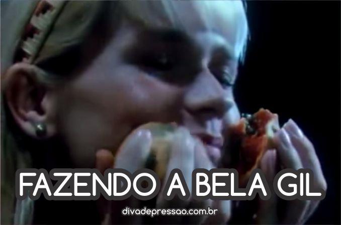 Site de memes mostra um momento Bela Gil da apresentadora Xuxa