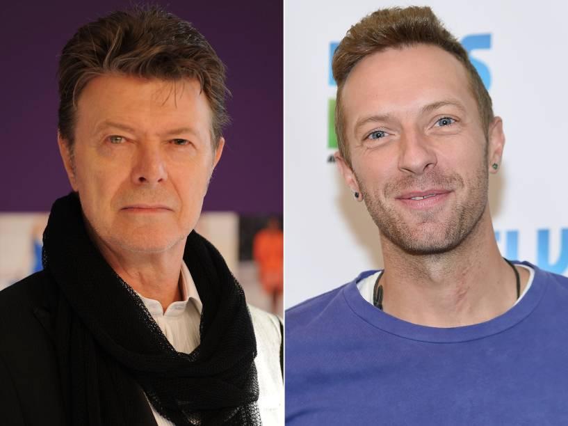 David Bowie e Chris Martin