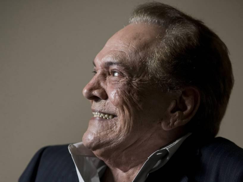 O ator Lucio Mauro