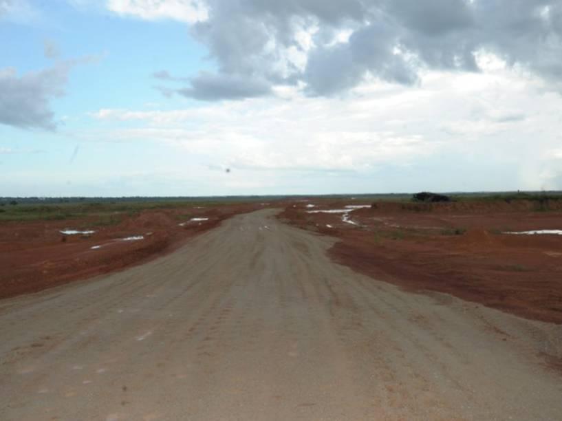 Obras da refinaria Premium I da Petrobras abandonadas no Maranhão