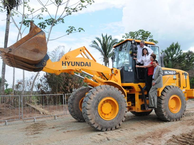 Lançamento da pedra fundamental da Refinaria Premium I no Maranhão em 2010