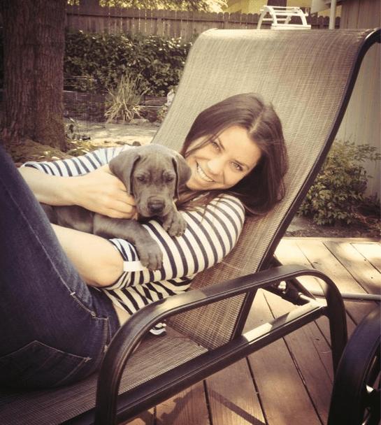 Brittany Maynard, antes de adoecer, em sua casa na Califórnia. A americana de 29 anos optou pelo suicídio assistido após ser diagnosticada com um tumor cerebral