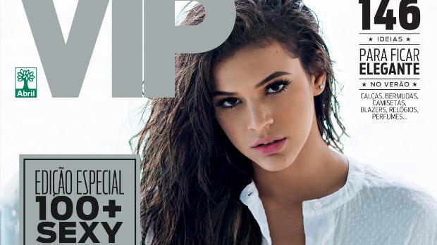 Bruna Marquezine é capa da VIP de novembro de 2014, em que recebe o título de mais sexy do mundo