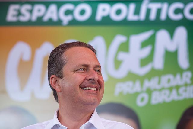 Eduardo Campos faz campanha no interior de SP