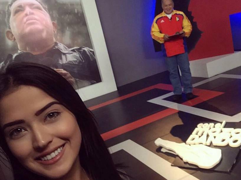 DDaniella Cabello, filha do deputado venezuelano Diosdado Cabello