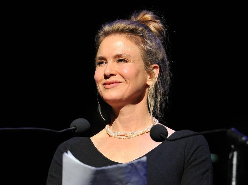 A atriz Renée Zellweger em março de 2014