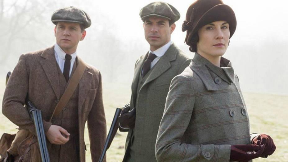 Foto do elenco de 'Downton Abbey', 5ª Temporada
