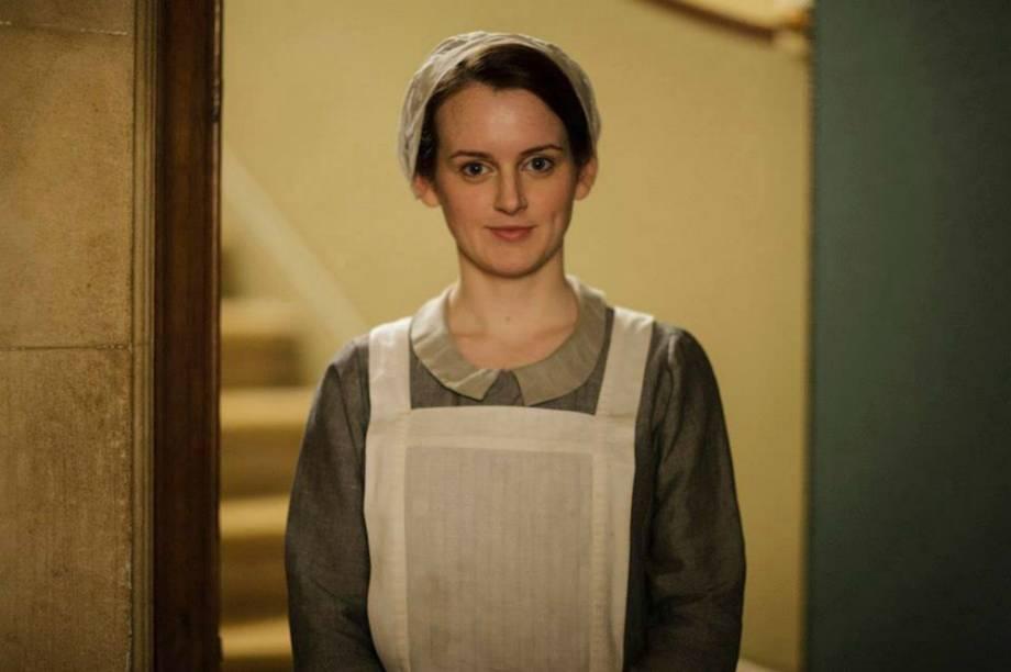 Sophie McShera como Daisy Robinson na quinta temporada de Downton Abbey'