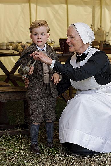 Primeiras fotos do elenco de 'Downton Abbey', 5ª Temporada