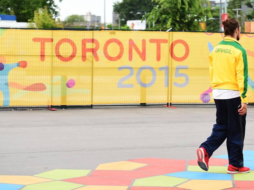Cenas de Toronto na véspera da abertura dos Jogos Pan-Americanos de 2015
