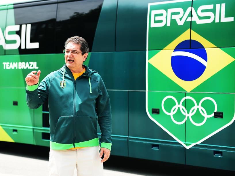 Edgar foi o responsável por montar os centros de treinamento provisórios do Brasil nos Jogos de Guadalajara, em 2011, e na Olimpíada de Londres, em 2012