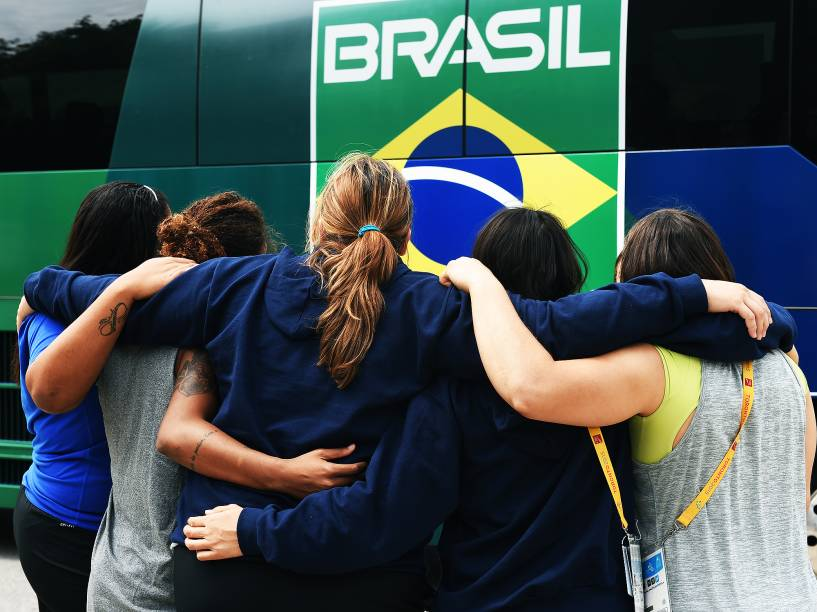 Centro de treinamento temporário do Time Brasil, situado nas instalações da Universidade de York em Toronto, Canadá
