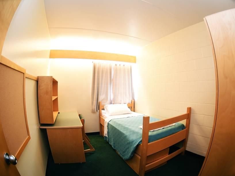 Os alojamentos da Universidade de York contam com quartos individuais, para preservar a qualidade de sono dos atletas