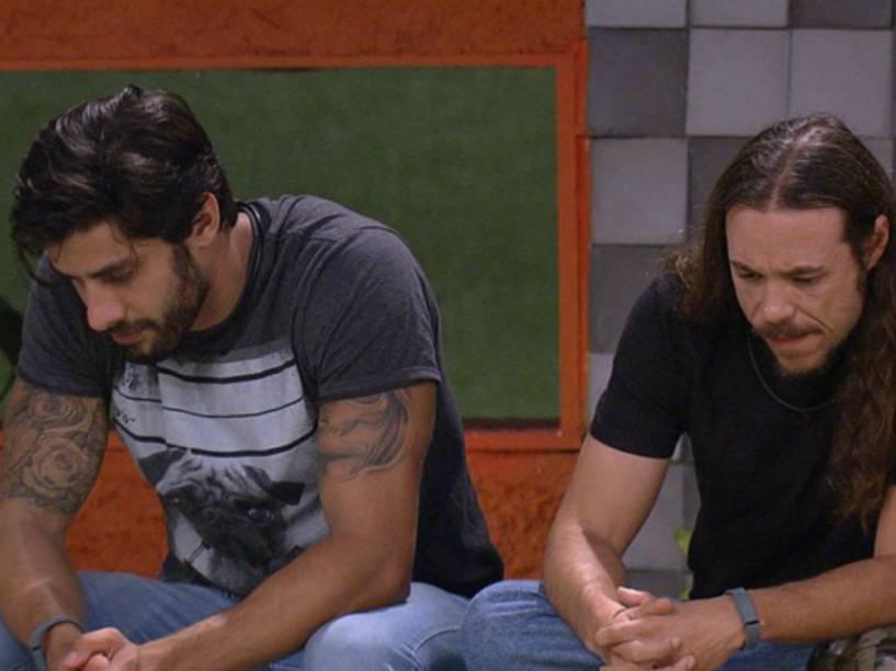 Renan e Tamiel ficaram arrependidos por escolhas na votação de domingo (28)