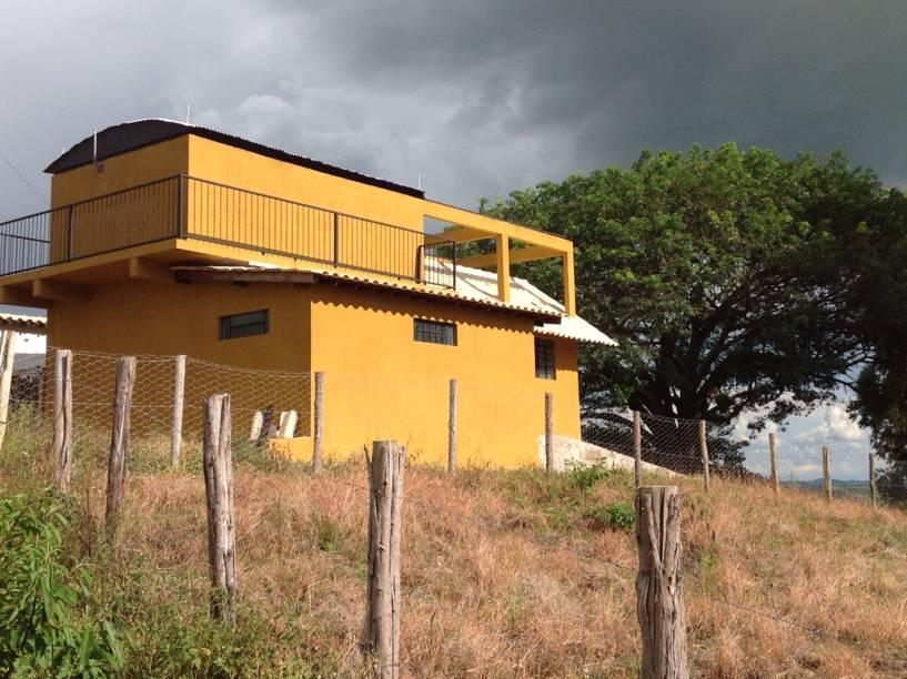 <p>Prédio do observatório Sonear, em Oliveiras (MG)</p>