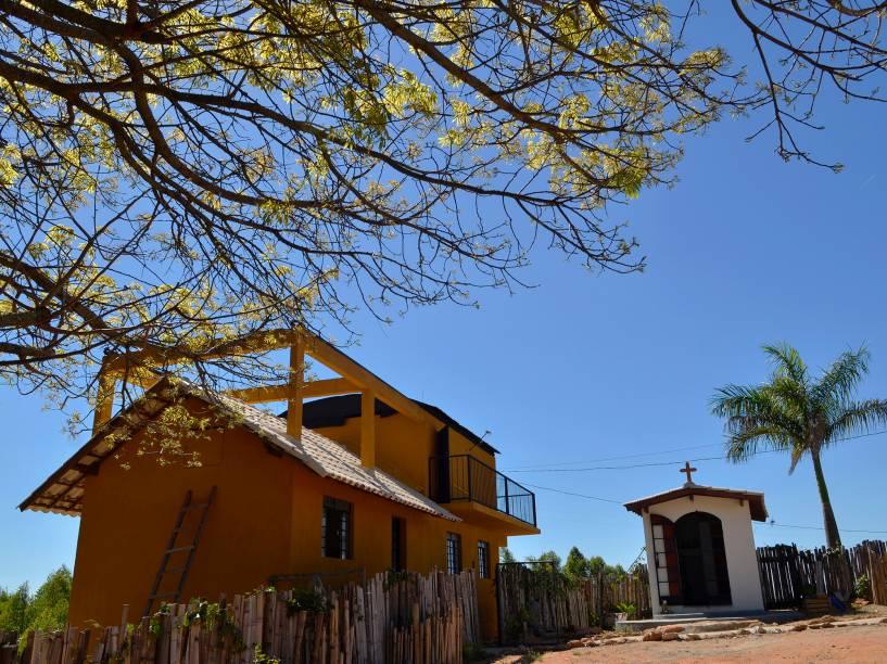 <p>Observatório espacial Sonear, na cidade de Oliveira, em Minas Gerais</p>