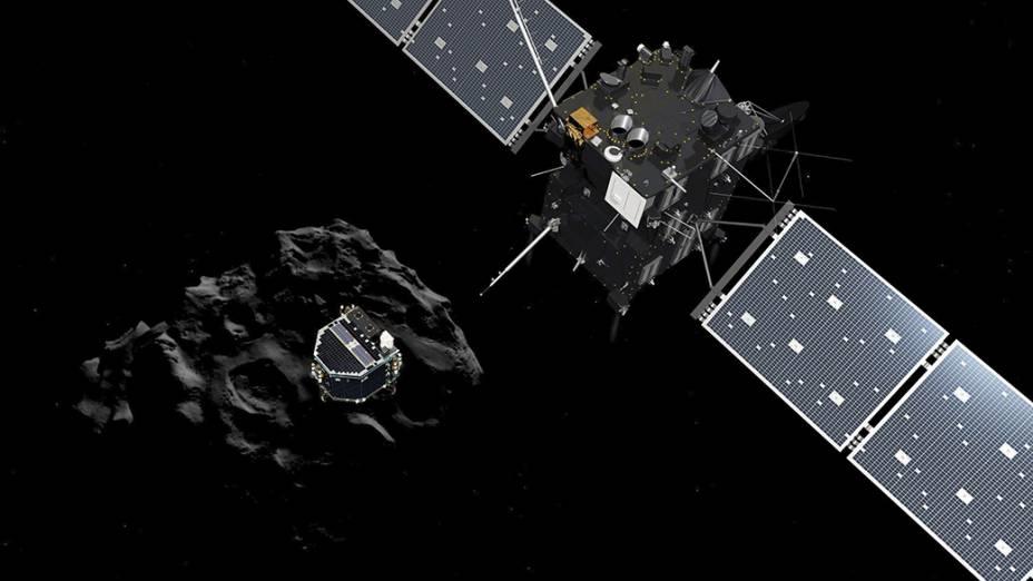 Sonda Rosetta, o módulo Philae e o cometa67P/Churyumov-Gerasimenko