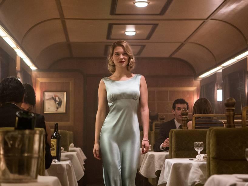 Lea Seydoux em 007 contra Spectre