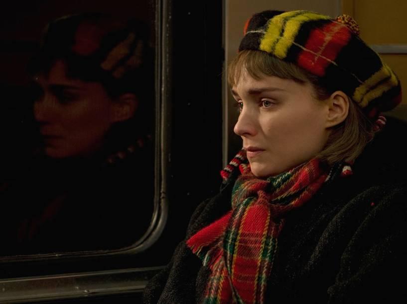 Rooney Mara (Therese Belivet) em cena do filme 'Carol'