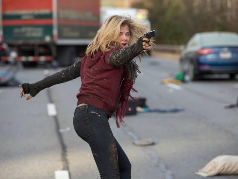 Chloë Grace Moretz (Cassie Sullivan) no filme A 5ª Onda