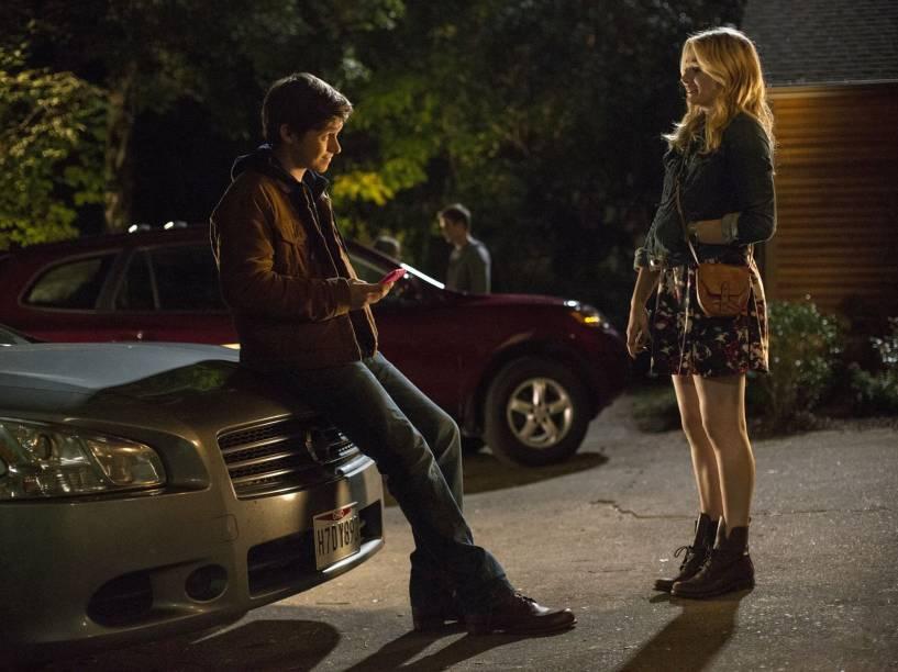 Nick Robinson (Ben Parish) e Chloë Grace Moretz (Cassie Sullivan)