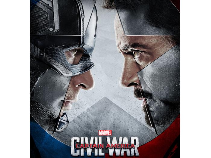 Pôster de Capitão América 3: A Guerra Civil