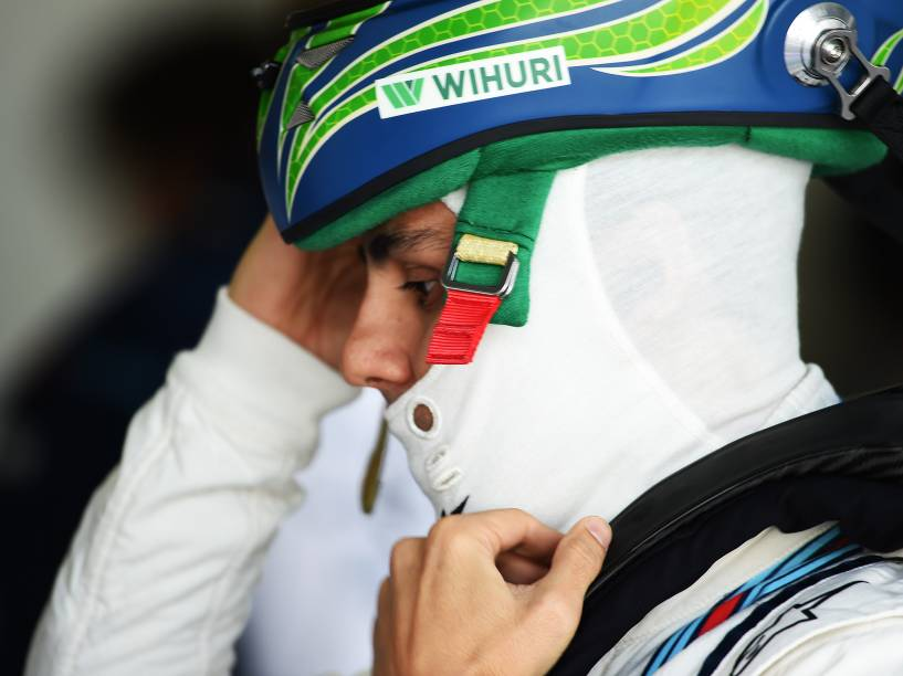 Felipe Massa no classificatório de sábado