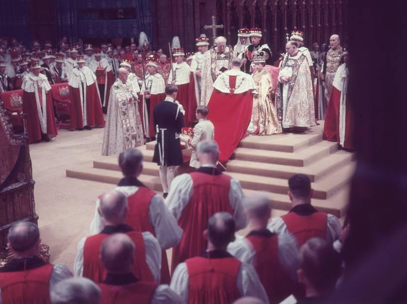 Cerimônia de coroação de Elizabeth II - 02/06/1953