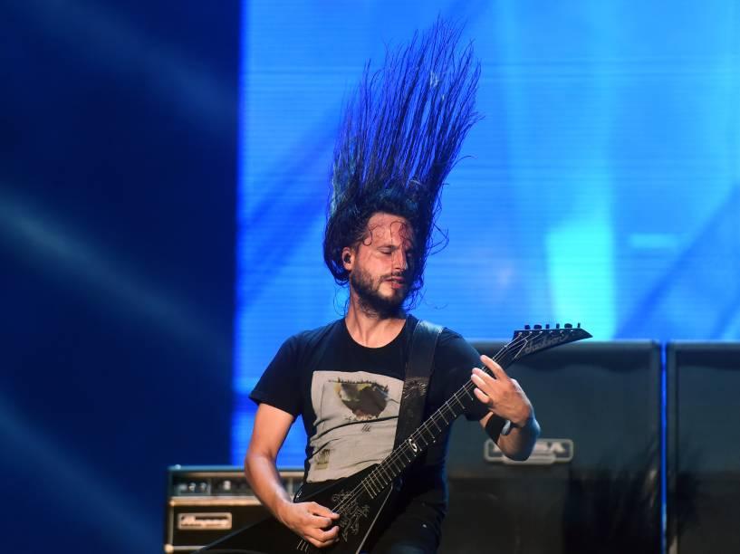 Apresentação da banda Gojiral no segundo dia do Rock in Rio 2015