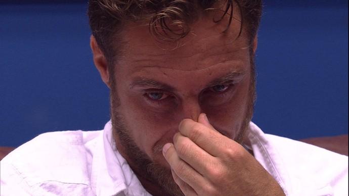 Daniel competiu com Maria Claudia pelo posto de mais chorão no BBB16. Logo, também ganhou fama de falso