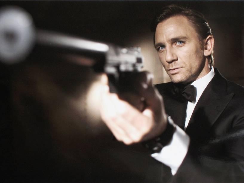 Daniel Craig, anunciado como o novo James Bond em 2005