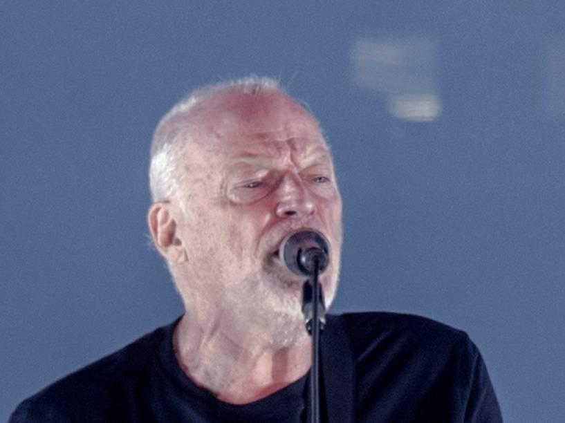 David Gilmour se apresenta na turnê de lançamento de seu mais recente álbum Rattle That Lock no Allianz Parque em São Paulo