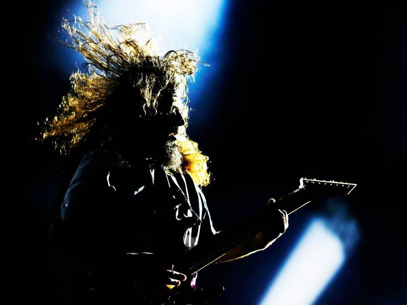 Apresentação da banda Deftones no quarto dia do Rock in Rio 2015