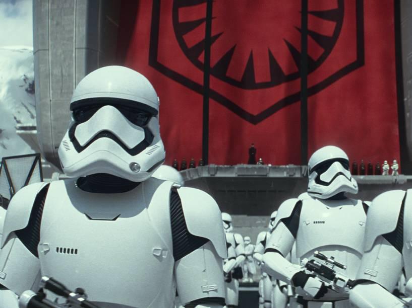 Cena do filme Star Wars: Episódio VII - O Despertar da Força