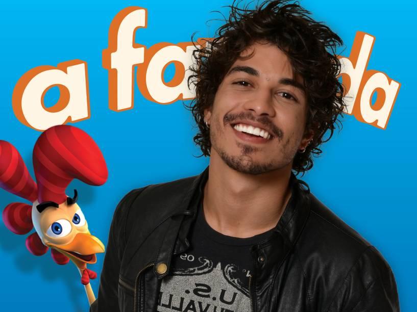 Douglas Sampaio é ator e já participou de algumas novelas, sendo parte também de uma dupla sertaneja