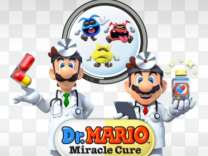 Dr Mario Super Cure é um jogo para o console 3DS em estilo Tetris que já está em pré venda e será lançado oficialmente em 11 de junho