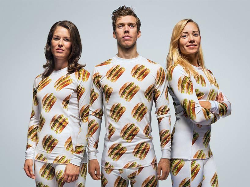 Linha de roupas do Mc Donald's inspirada no Big Mac