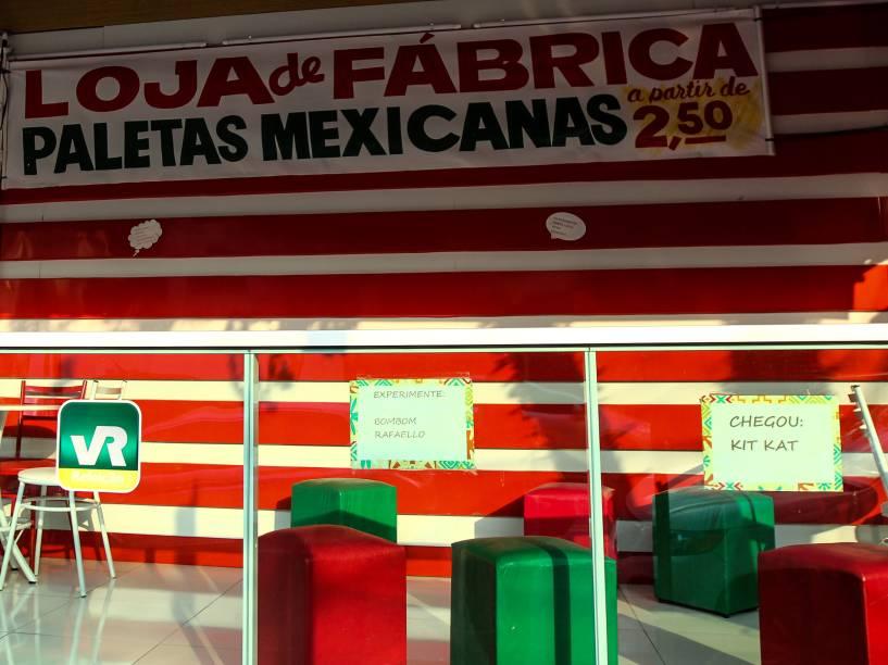 Promoção de paletas a 2,50 reais