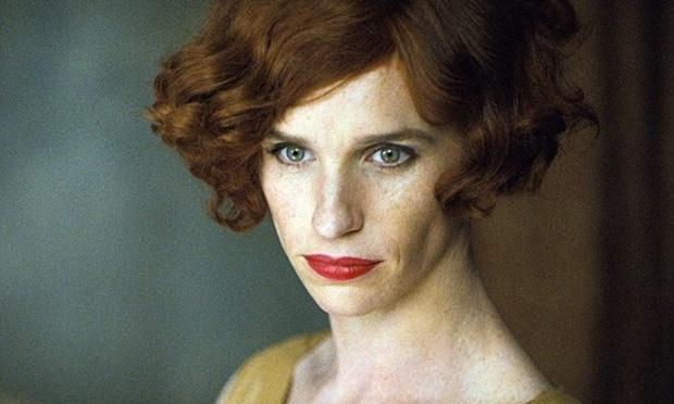 Eddie Redmayne como mulher no filme The Danish Girl, previsto para o fim de 2015