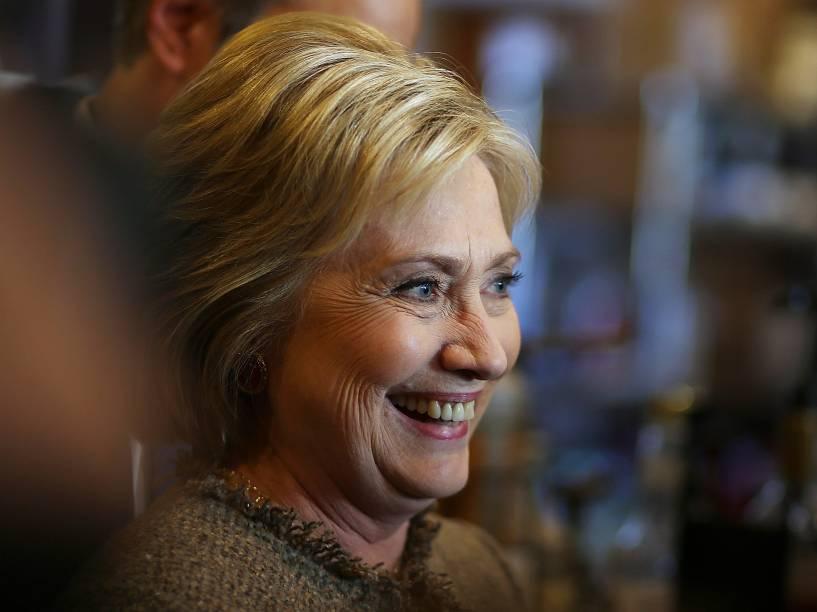 Hillary Clinton - Treze estados e um território norte-americano realizam prévias eleitorais na Superterça