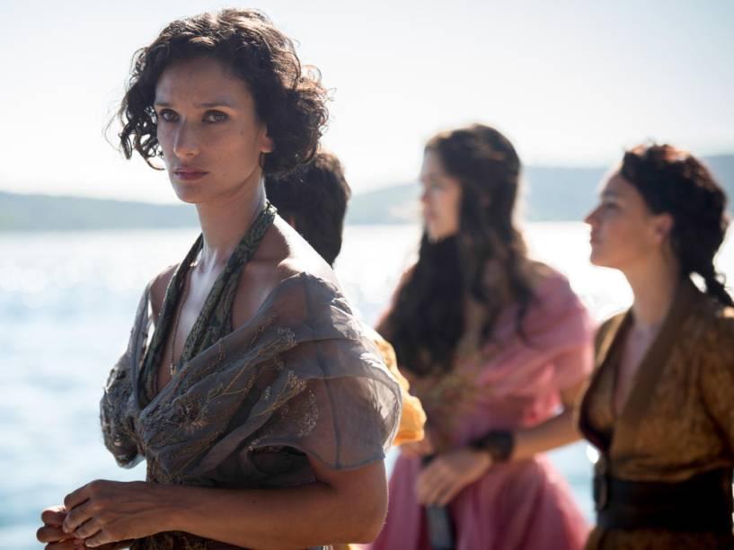 Ellaria (Indira Varma), a líder das Serpentes de Areia em Game of Thrones
