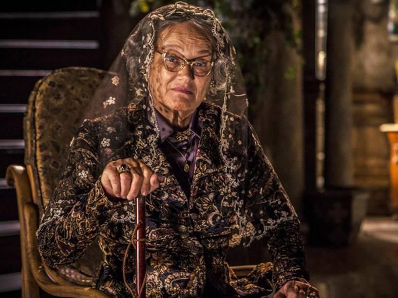 Selma Egrei continua a interpretar a centenária Encarnação em nova fase de Velho Chico